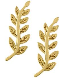 Gold-Tone Vine Ear Crawlers