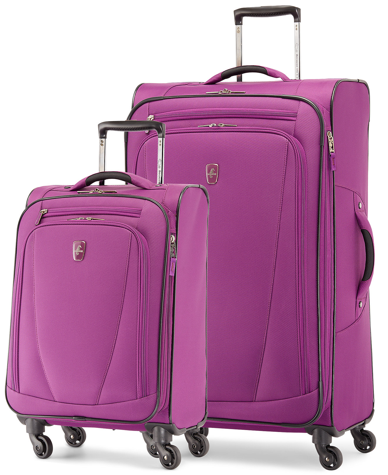 Pink Suitcases For Sale Mc Luggage