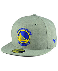 New Era Golden State Warriors All Heather 59FIFTY Cap