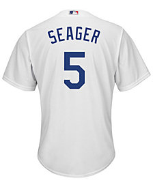 Majestic  Corey Seager Los Angeles Dodgers Player Replica CB Jersey, Big Boys (8-20)