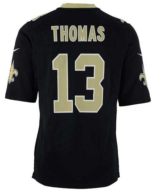 size 40 be717 0a350 Men's Michael Thomas New Orleans Saints Game Jersey