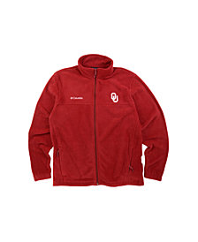 Columbia Men's Oklahoma Sooners Flanker Full-Zip Jacket