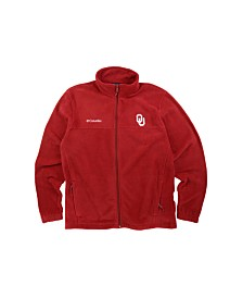 Columbia Men's Oklahoma Sooners Flanker Full-Zip Jacket