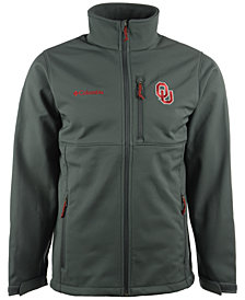 Columbia Men's Oklahoma Sooners Ascender Softshell Jacket