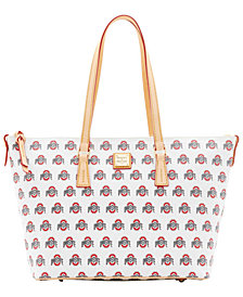 Dooney & Bourke Ohio State Buckeyes Zip Top Shopper