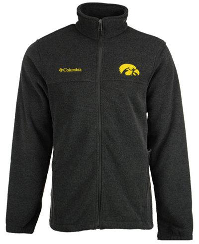 Columbia Men's Iowa Hawkeyes Flanker Full-Zip Jacket