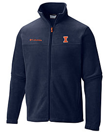 Columbia Men's Illinois Fighting Illini Flanker Full-Zip Jacket