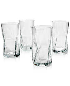 Bormioli Rocco Cassiopea Highball Glasses, Set of 4