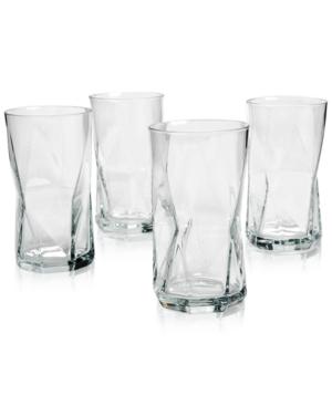Bormioli Rocco Cassiopea Highball Glasses, Set of 4