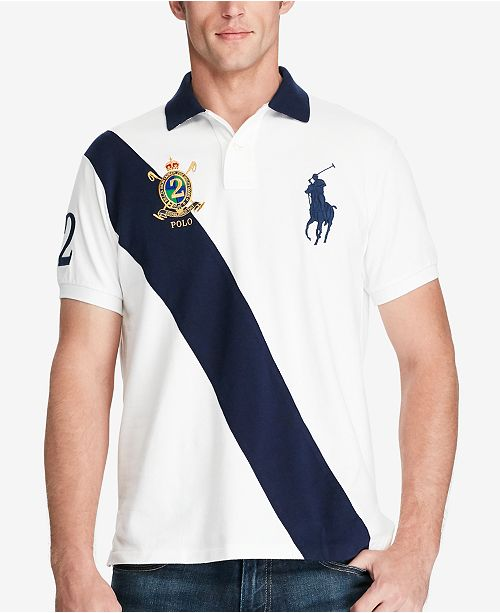 5e070c79fea1f Polo Ralph Lauren Men s Classic-Fit Big Pony Polo   Reviews - Polos ...