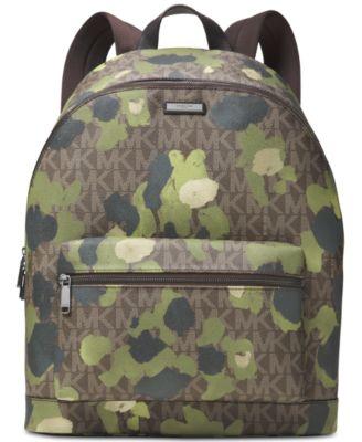 michael kors men s jetset camo backpack all accessories men macy s rh macys com