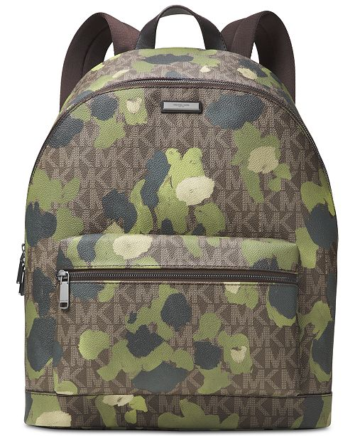 7917f3cef2f0 Michael Kors Men s JetSet Camo Backpack   Reviews - All Accessories ...