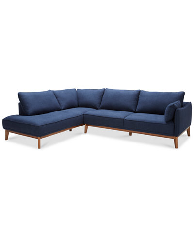 Jollene 113 Quot 2 Pc Sectional Created For Macy S