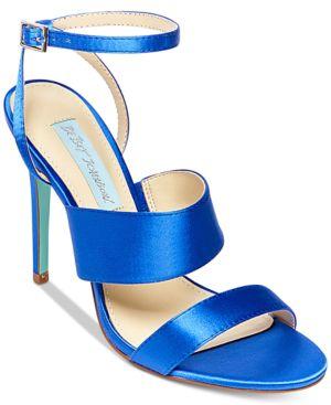 Blue By Betsey Johnson Jenna Strappy Evening Sandals Women