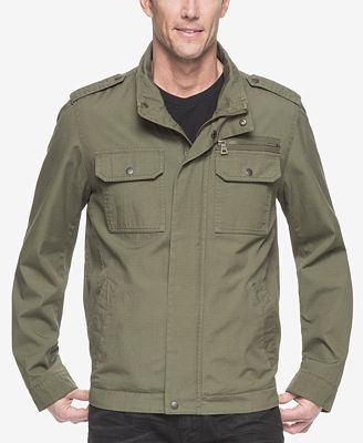 G.H. Bass & Co. Men's Military-Inspired Jacket - Coats & Jackets ...