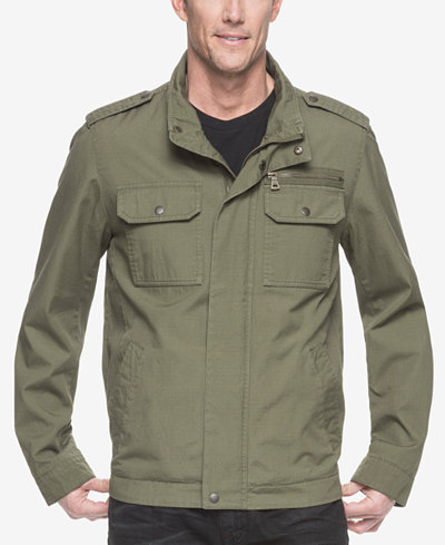 G.H. Bass & Co. Men's Military-Inspired Jacket - Coats & Jackets ...