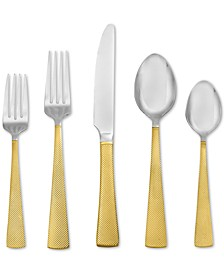 CLOSEOUT! Argent Orfèvres Broadway 24kt Gold 5-Piece Place Setting