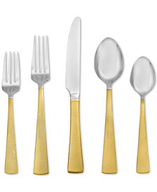 Argent Orfèvres Hampton Forge Broadway 24kt Gold 20-Piece Flatware Set