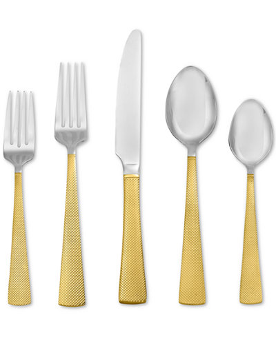 Argent Orfèvres by Hampton Forge Broadway 24kt Gold 5-Piece Place Setting