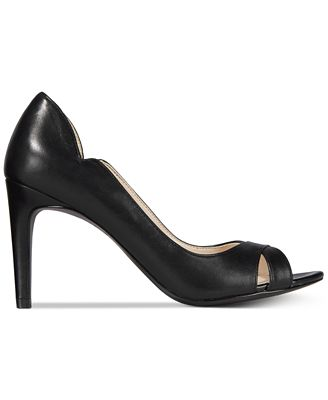 Cole Haan Jacinda Peep-Toe Pumps