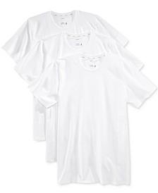 Men's 3 Pack Essential Fit Staycool + Cotton Crew Neck Undershirts