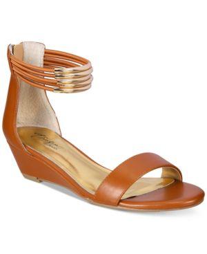Thalia Sodi Leyna Wedge Sandals, Created for Macy