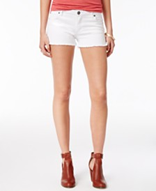 STS Blue Side Slit Boyfriend Shorts