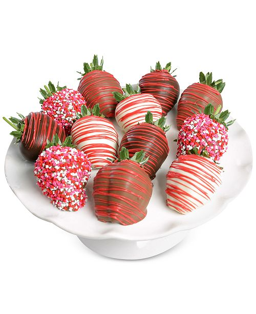 Chocolate Covered Company  12-Pc. Belgian Chocolate-Covered Strawberries