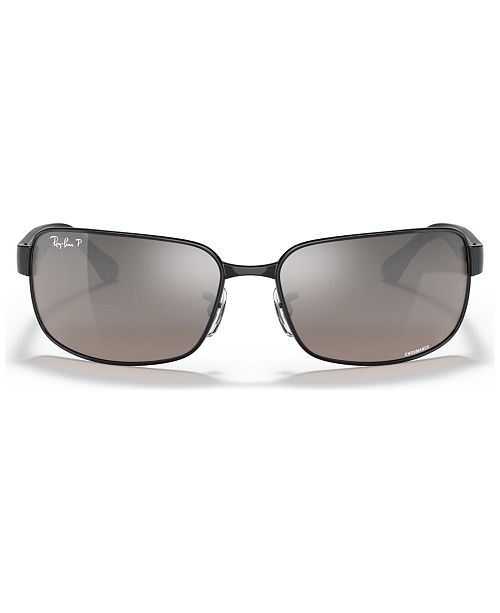 Ray-Ban Polarized Sunglasses , RB3566 CHROMANCE