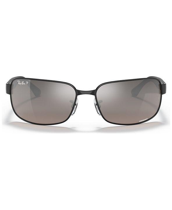Ray-Ban Polarized Sunglasses , RB3566 CHROMANCE