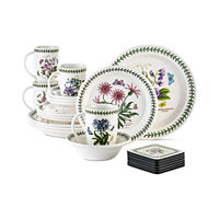 Deals on Portmeirion Botanic Garden 22 Piece Set Service for 4