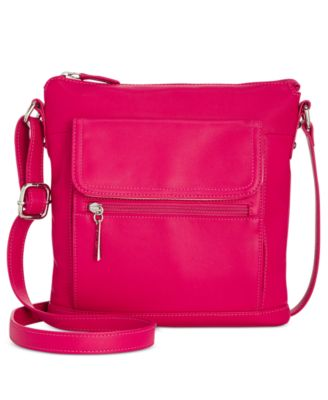 Image of Giani Bernini Nappa Leather Venice Crossbody, Only at Macy's