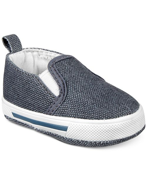 37610d60509 ... First Impressions Baby Boys Hi Bye Slip-On Shoes