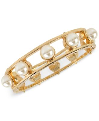 Image of M. Haskell for INC International Concepts Hinged Bangle Bracelet, Only at Macy's