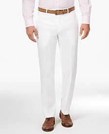Lauren Ralph Lauren Men's Classic-Fit Solid Linen Dress Pants