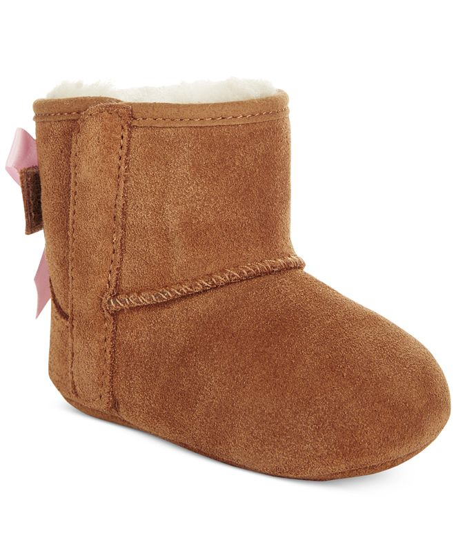 UGG® Baby Girls I Jesse Bow II Booties