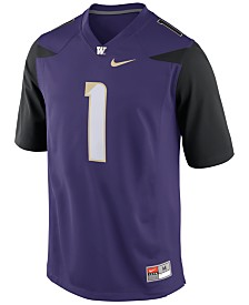 Nike Men's Washington Huskies Replica Football Game Jersey