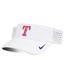 Nike Texas Rangers White Dri-FIT Visor