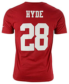 Nike Carlos Hyde San Francisco 49ers Pride Name and Number T-Shirt, Big Boys