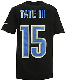 Nike Golden Tate Detroit Lions Pride Name and Number T-Shirt, Big Boys (8-20)