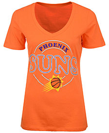 5th & Ocean Women's Phoenix Suns Circle Glitter T-Shirt