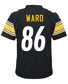Nike Hines Ward Pittsburgh Steelers Retired Player Game Jersey, Big Boys (8-20)