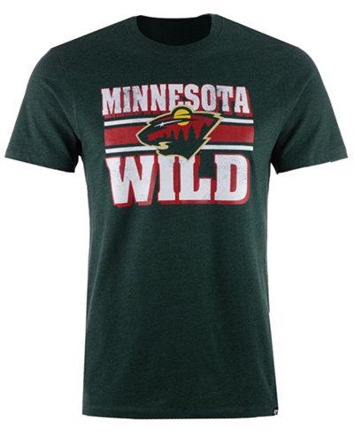 '47 Brand Men's Minnesota Wild Stripe Knockaround Club T-Shirt