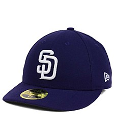 San Diego Padres Low Profile AC Performance 59FIFTY Cap