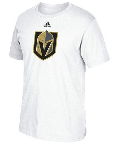 adidas Men's Vegas Golden Knights Primary Go To Short Sleeve T-Shirt