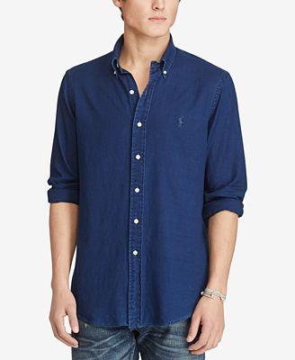 Polo Ralph Lauren Men's Indigo Oxford Shirt