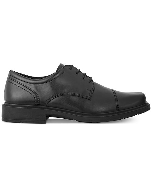 cfa6920d3e50 Ecco Men s Helsinki Cap Toe Oxfords   Reviews - All Men s Shoes ...
