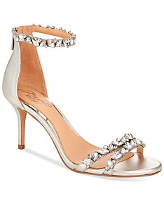 4512c10a04395 Silver Bridal Shoes and Evening Shoes - Macy's