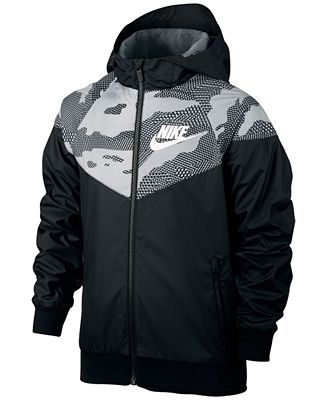 Nike Sportswear Windrunner Jacket, Big Boys (8-20) - Coats ...