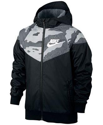 Nike Sportswear Windrunner Jacket Big Boys 8 20 Coats